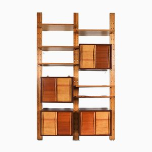 French Shelf System in the Style of Perriand & Le Corbusier, 1970s
