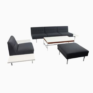 Modular Sofa System by George Nelso for Herman Miller, Set of 3