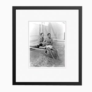 Randolph & Cary Archival Pigment Print Framed in Black by Everett Collection