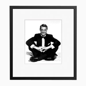Cary Looking Dapper Archival Pigment Print Framed in Black by Everett Collection