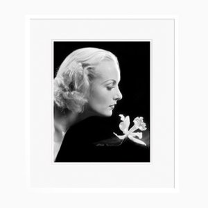 Carole Lombard Archival Pigment Print Framed in White by Alamy Archives