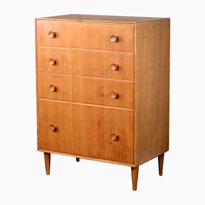 Oak Chest of Drawers from Meredew, 1960s