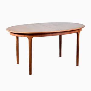 Mid-Century Teak Oblong Extendable Dining Table from McIntosh, 1960s