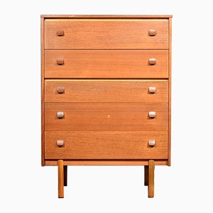 Mid-Century Teak Chest of Drawers from Avalon, 1960s