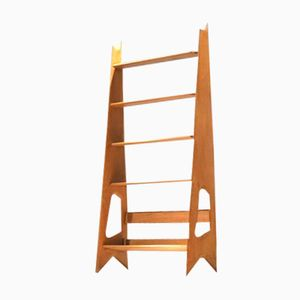 Free Standing Oak Shelf by René Guillerme for Guillerme & Chambron
