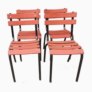 Chairs, 1940s, Set of 4
