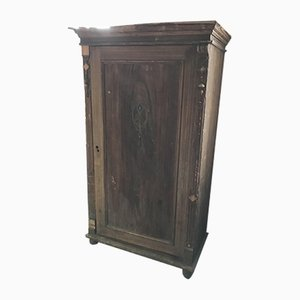 Antique Hungarian Pine Wardrobe