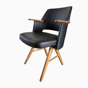 Chaise de Bureau FT30 Mid-Century en Teck par Cees Braakman pour Pastoe, 1950s