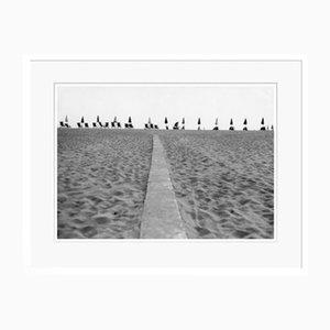 Beach Oversize Archival Pigment Print Framed in White by Für Kunst Und Geschichte