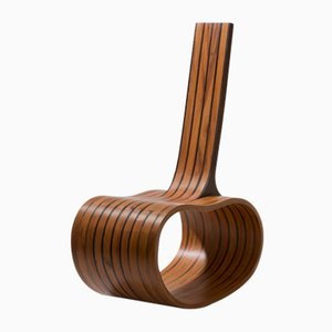 Limited Edition Rocking Chair Feijão Bean by Rodrigo Simão