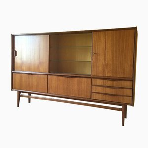 German Teak & Afromosia Highboard from Bartels Werke, 1960s