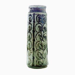 Vaso vintage in ceramica di L Hjorth, Danimarca