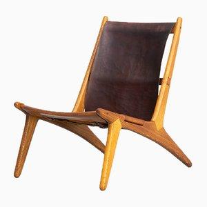Chaise de Chasse Modèle 204 par Uno & Östen Kristiansson pour Luxus, 1950s