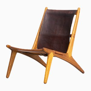 Model 204 Hunting Chair by Uno & Östen Kristiansson for Luxus, 1950s