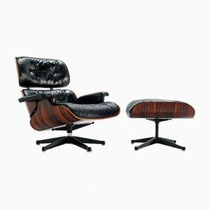 Palisander Sessel von Charles & Ray Eames für Herman Miller, 1970er, 2er Set
