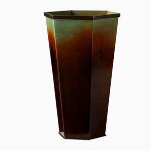 Vase von Bernhard Linder für Svensk Metallkonst, Schweden, 1930er