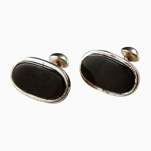 Cufflinks by Torun Bülow-Hübe, Denmark, 1990s, Set of 2