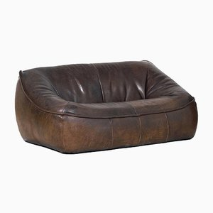 Leather Ringo 2-Seat Sofa by Gerard van den Berg for Montis, 1970s