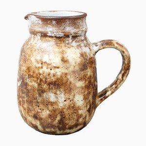 Französische Mid-Century Krug Vase aus Keramik von Alexandre Kostanda, 1960er