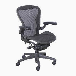 Anthracite Aeron Office Chair by Bill Stumpf & Don Chadwick for Herman Miller, 2000s