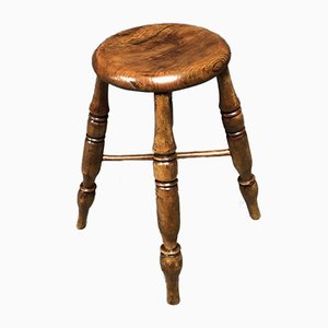 Antique English Pub Stool