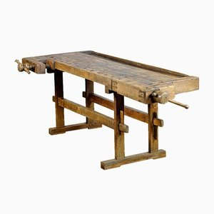 Oak Carpenter's Workbench