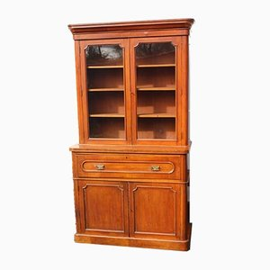 Mahogany Secretaire Bookcase, 1890s