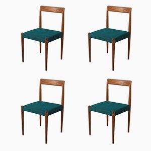 Esszimmerstühle von Lübke, 1960er, Set of 4