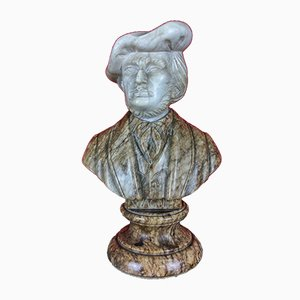 Richard Wagner Marble Desk Bust, 1930s