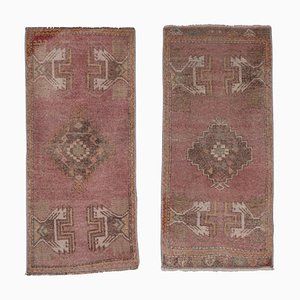 Turkish Small Rugs, 1970s, Set of 2