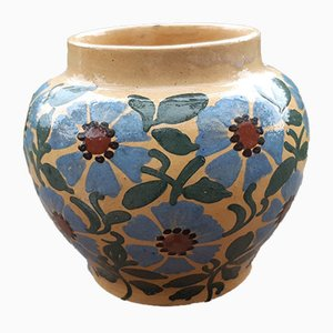Terracotta Glazed Vase, 1960s