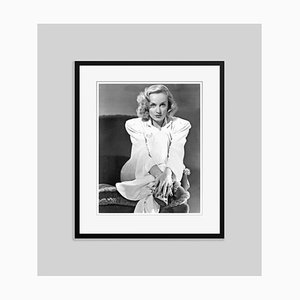 Alluring Lombard Archival Pigment Print Framed in Black by Everett Collection
