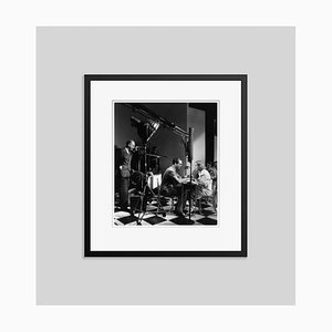 Hands Across the Table Archival Pigment Print Framed in Black by Everett Collection