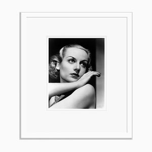 Carole Lombard Dazzles Archival Pigment Print Framed in White by Everett Collection