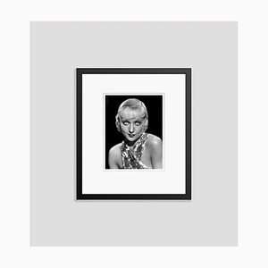 Carole Lombard Glamorous Portrait Still Archival Pigment Print Framed in Black by Everett Collection