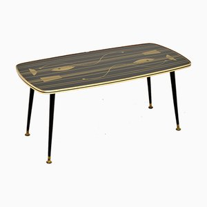 Vintage Atomic Style Coffee Table, 1950s