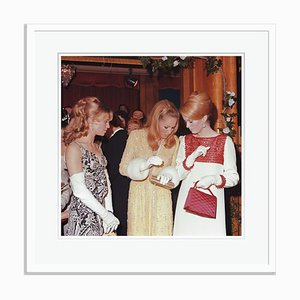 Blonde Beauties Framed in White by George Freston