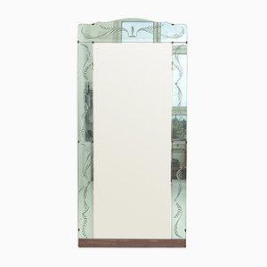 Grand Miroir Armoire de Fontana Arte, 1940s