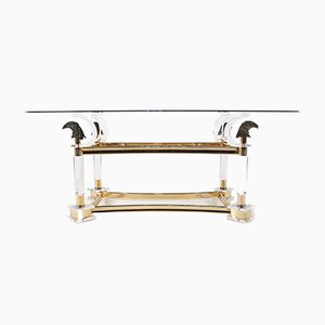 Hollywood Regency Eagle Console Table, 1970s