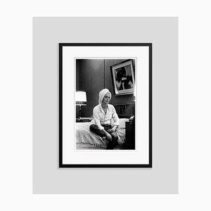 Catherine Deneuve Archival Pigment Print Framed in Black by Giancarlo Botti