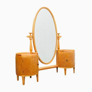 Vintage Maple Dressing Table, 1950s