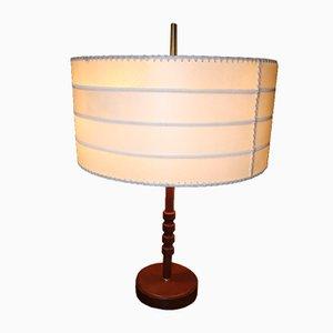 Lampada da tavolo in stile Jacques Adnet, anni '60