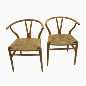 Oak Wishbone CH24 Dining Chair by Hans J. Wegner for Carl Hansen & Søn, 1963
