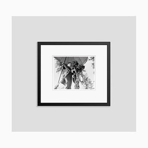 Charlie Chaplin Archival Pigment Print Framed in Black by Bettman