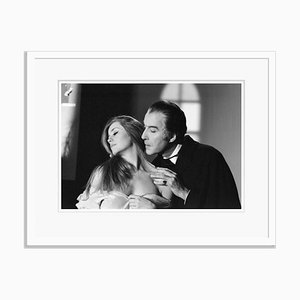 Count Dracula Archival Pigment Print Framed in White by George Greenwell