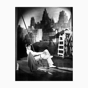 Clark Gable Archival Pigment Print Framed in White