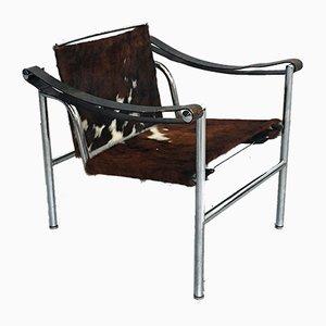 Mid-Century LC1 Sessel von Le Corbusier für Cassina, 1929