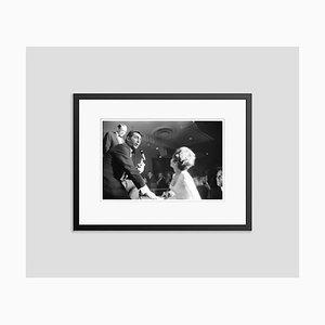 Frank, Dino and Nancy in Vegas Framed in Black by Phillip Harrington