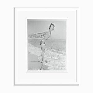 Stampa da archivio Debbie Reynolds a pigmento bianco di Bettmann