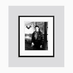 Marlon Brando on Set 1954 Archival Pigment Print Framed in Black by Everett Collection